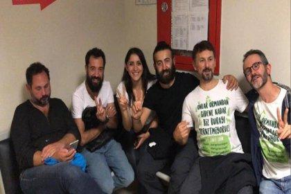 """Gözaltına alınan """"Kaz Dağları İstanbul Dayanışması Gönüllüleri"""" serbest"""