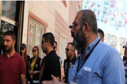 Kalp ameliyatı olamayan yurttaş da HDP önünde oturma eylemi yaptı