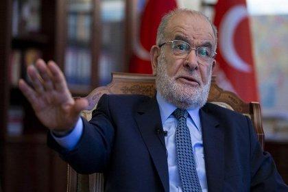 Karamollaoğlu'ndan Erdoğan'a: Bush'la bir olup Irak'ı bombalamaya destek verenler kimdi?