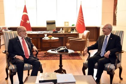 Karamollaoğlu'ndan Kılıçdaroğlu'na geçmiş olsun ziyareti