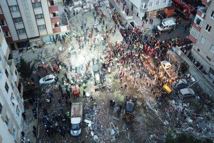 Kartal'da çöken bina soruşturmasında teknik elemanların tutuklanmasına İMO'dan tepki