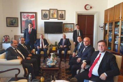 KAS-DER'den 'Gazi Kastamonu' için Meclis'teki partilere ziyaret