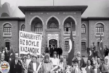 KAS-DER'den videolu 29 Ekim paylaşımı