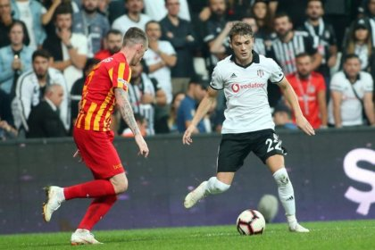 Kayserispor- Beşiktaş 2-2 berabere kaldı