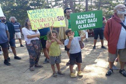 Kaz Dağları'nda 'vicdan ve su nöbeti' tutanlardan AKP'li Bülent Turan'a çağrı