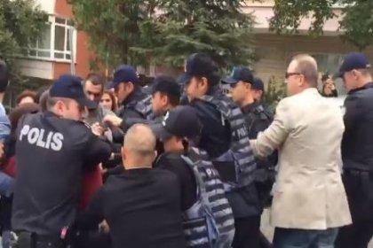 KHK'lılara polis müdahalesi