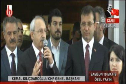 Kılıçdaroğlu 19 Mayıs'ın 100. yıl dönümünde Samsun'dan seslendi: Kapalı kapılar ardında adaletin terazisiyle oynadılar. Sandığa gideceğiz, adaleti yeniden sağlayacağız