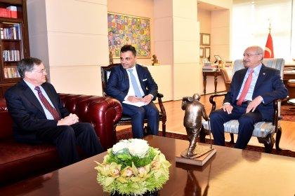 Kılıçdaroğlu, ABD'nin Ankara Büyükelçisi ile görüştü