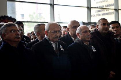 Kılıçdaroğlu, Ali Öztunç'un babasının cenaze törenine katıldı