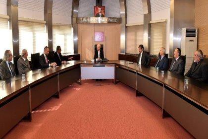 Kılıçdaroğlu Ankara Elektrik-Elektronik Teknisyenleri Esnaf Odası yönetimiyle bir araya geldi