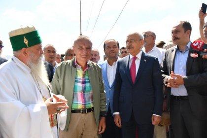 Kılıçdaroğlu, Arnavutluk'ta Bektaşilerle buluştu