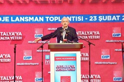 Kılıçdaroğlu: Bir gün önce gazetelerde yer aldı, kimse ses çıkarmadı, ben gösterdim kıyamet koptu. O tablo Türkiye gerçeğini yansıtıyor