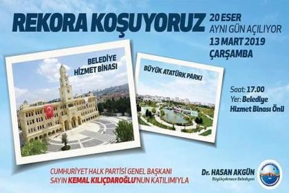 Kılıçdaroğlu, Büyükçekmece'de 20 eserin açılışını gerçekleştirecek