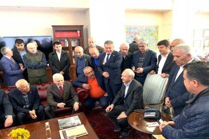 Kılıçdaroğlu CHP Genel Merkezi'ne geldi: 'Üzüntüm şehide yapılan saygısızlığadır'