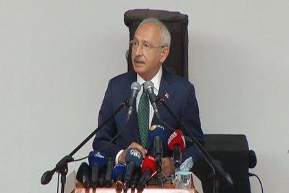 Kılıçdaroğlu Hacıbektaş Veli anma töreninde konuştu: Anadolu'ya elinde kılıçla değil aydınlanma meşalesiyle geldi