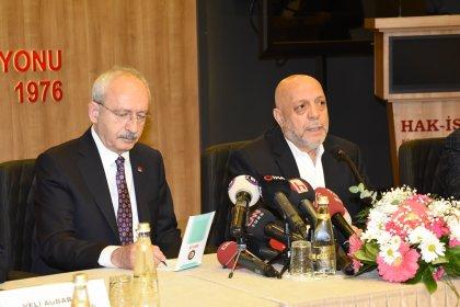 Kılıçdaroğlu, Hak-İş heyetini kabul edecek