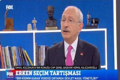 Kılıçdaroğlu'ndan Rahmi Turan'ın iddiasına ilişkin açıklama: 'Erdoğan, CHP'yi dağıtmak için elinden geleni yapıyor; devletin en kilit noktasındaki isimleri devreye soktuğunu biliyorum'