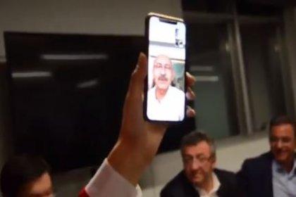 Kılıçdaroğlu İstanbul il örgütüne FaceTime'dan seslendi: Çabanızı Türkiye takdirle izliyor. Hep birlikte yeniden İstanbul tarihini yazacağız