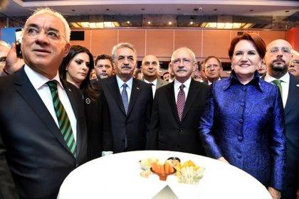 Kılıçdaroğlu, İYİ Parti'nin 2'nci kuruluş yıl dönümü resepsiyonuna katıldı