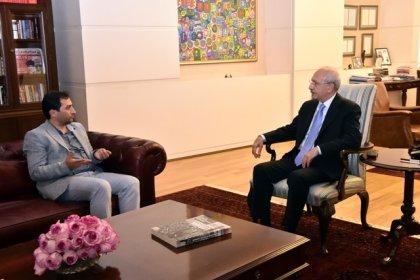 Kılıçdaroğlu, Rabia Naz'ın babası Şaban Vatan ile görüştü