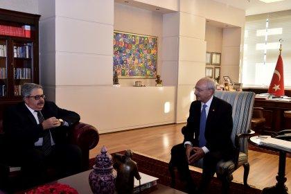 Kılıçdaroğlu, Rus büyükelçiyi kabul etti
