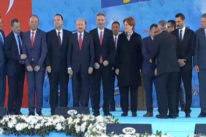 Kılıçdaroğlu ve Akşener Manisa'daki ortak mitingde halkla buluştu
