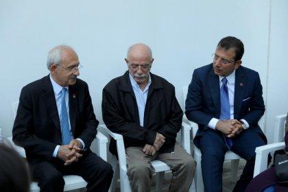 Kılıçdaroğlu ve İmamoğlu, Tuzla'daki fabrika yangınında yaralanan itfaiye erini ziyaret etti
