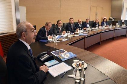 Kılıçdaroğlu, CHP'li büyükşehir belediye başkanları ile bir araya geldi