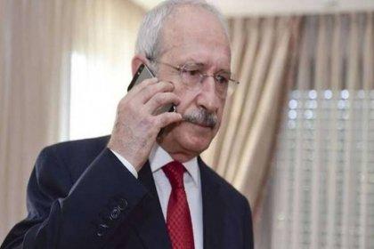 Kılıçdaroğlu'dan MHP'li Semih Yalçın'a taziye telefonu