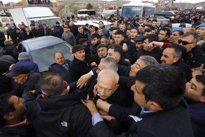 Kılıçdaroğlu'na yumruk atan Osman Sarıgün'ün de aralarında olduğu 5 kişi gözaltına alındı