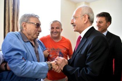 Kılıçdaroğlu'ndan Haldun Dormen'e geçmiş olsun ziyareti