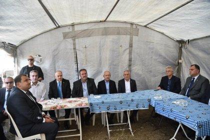 Kılıçdaroğlu'ndan Vahit Cansever'in ailesine taziye ziyareti