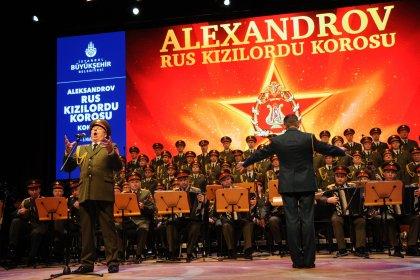 Kızılordu Korosu, iki konserle İstanbullularla buluşuyor