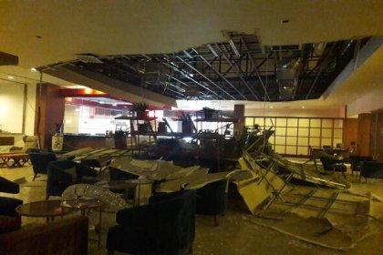 KKTC'de Girne'de askeri bölgedeki cephanelikte patlama meydana geldi