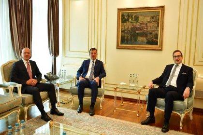 Koç Holding'den İBB Başkanı Ekrem İmamoğlu'na ziyaret