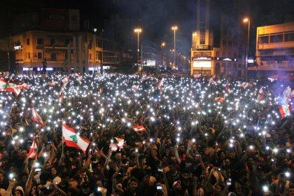Lübnan'da halk başkaldırıyor! Göstericilerin toplam sayısı 1 milyon 700 bine ulaştı