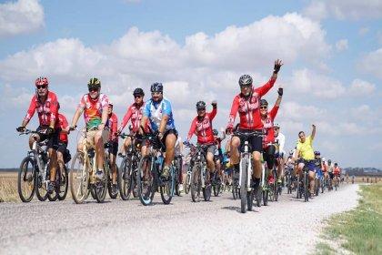 Lüleburgaz'da barış için pedal çevirdiler