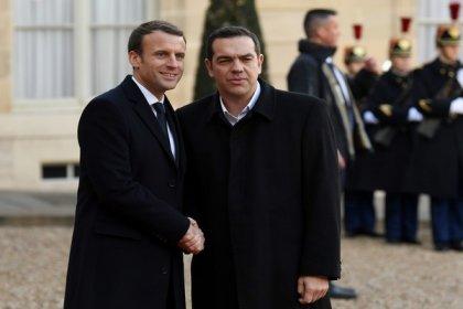 Macron ve Çipras: Türkiye Kıbrıs'ta yasadışı faaliyetini sonlandırmalı