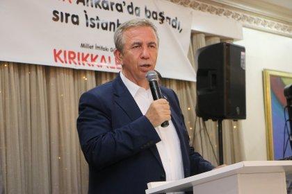Mansur Yavaş'tan 23 Haziran açıklaması: Benim için de 'o koltuğa oturamaz' dediler