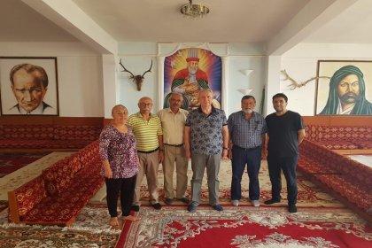 Mansur Yavaş'tan Hüseyin Gazi Cemevi'ne ziyaret