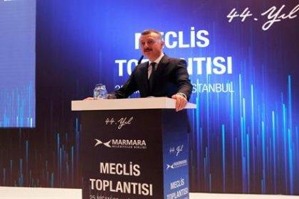 Marmara Belediyeler Birliği Başkanlığına Tahir Büyükakın seçildi