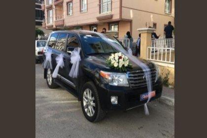 Melih Gökçek'ten geri alınan belediyeye ait cipler gelin arabası oldu