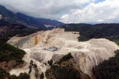 Mermer ocağı hakkında bilgi almak için başvurdular, 13 maden ocağı için daha izin verildiğini öğrendiler!