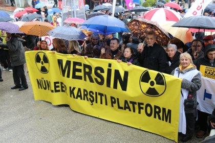 Mersinlilerden Nükleer Meslek Lisesi açılmasına tepki