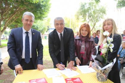 Mezitli Belediye Başkanı Neşet Tarhan, 'Doğa Dostu Belediye Başkanı Taahhütnamesi'ni imzaladı