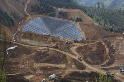Murat Dağı'nda altın-gümüş madeni planlanan bölge orman alanı olarak görünüyor