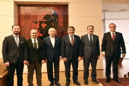 MÜSİAD'dan Kılıçdaroğlu'na ziyaret