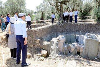 """""""Myrleia Antik Kenti'nin turizme kazandırılması için Mudanya Belediyesi çalışmalara başladı"""