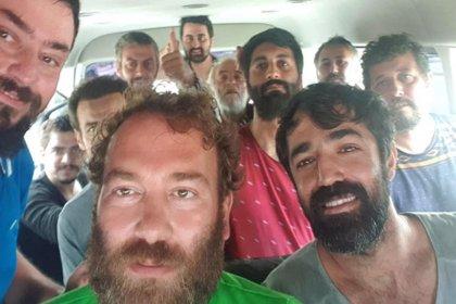 Nijerya'da kaçırılan denizciler Türkiye'ye geldi