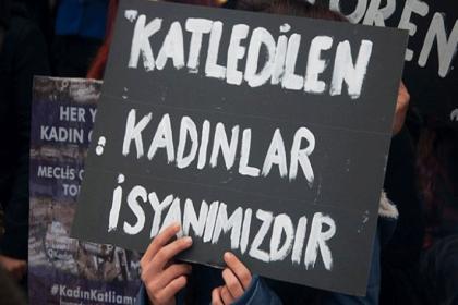 Nisan ayında 36 kadın erkekler tarafından öldürüldü